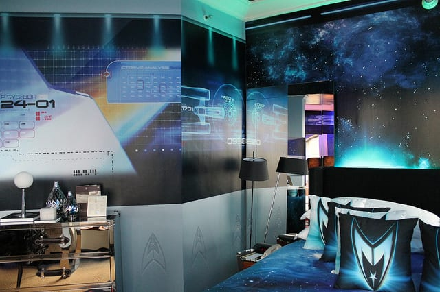 Star Trek | Nós conferimos: veja mais de 30 fotos do quarto inspirado no filme