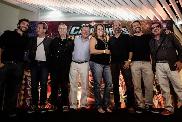 Pré estreia de Cavaleiros do Zodíaco, com os dubladores, lota sala de cinema em São Paulo