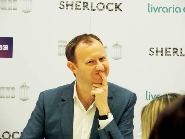 Sherlock | Ouça, na integra, coletiva de Mark Gatiss realizada ontem na Livraria Cultura em SP
