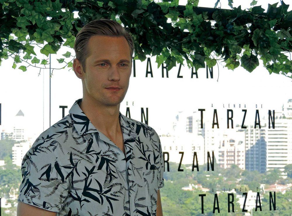 Tarzan | Ator Alexander Skarsgård está em SP para estreia do filme A Lenda de Tarzan