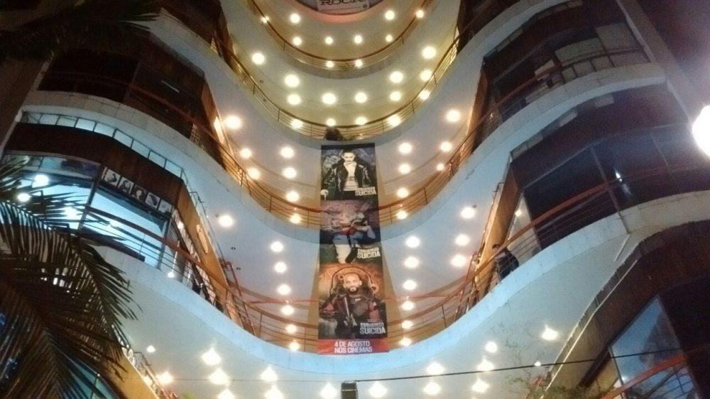 Esquadrão Suicida invade a Galeria do Rock em São Paulo