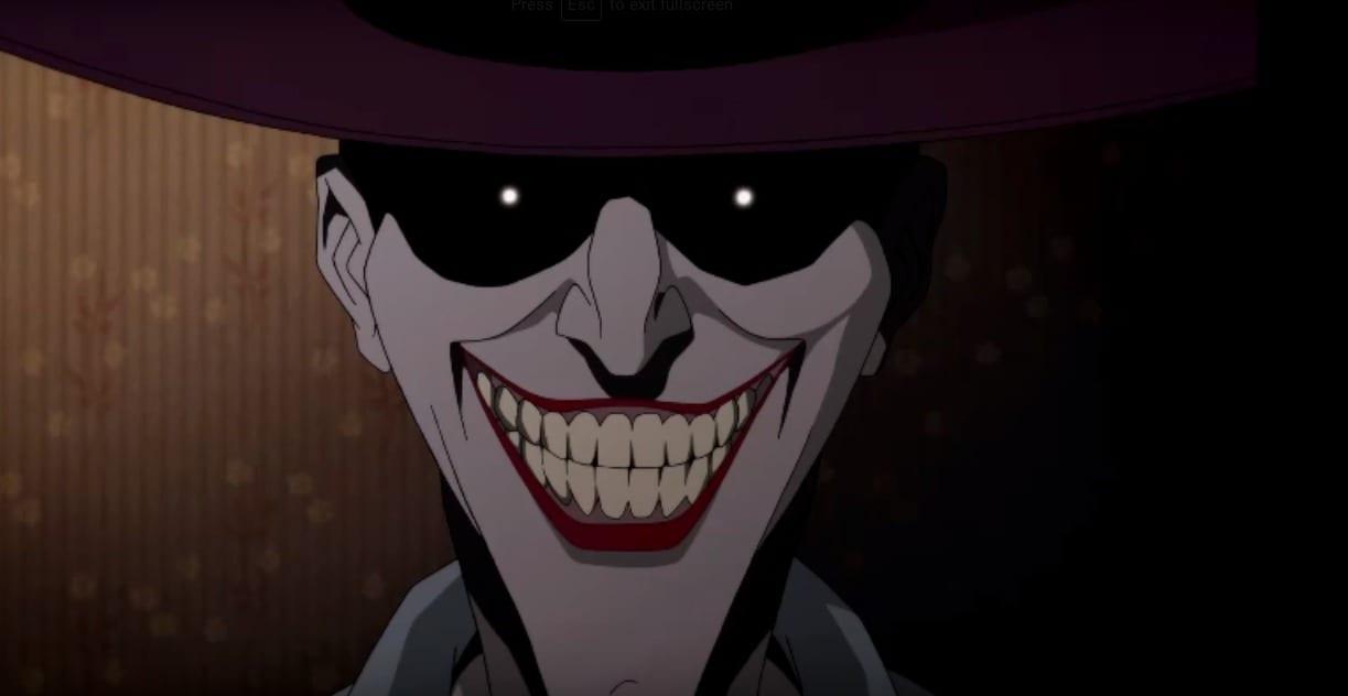 Confira trailer da animação do clássico Piada Mortal