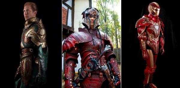 Medieval | Site vende impressionantes armaduras de personagens customizadas