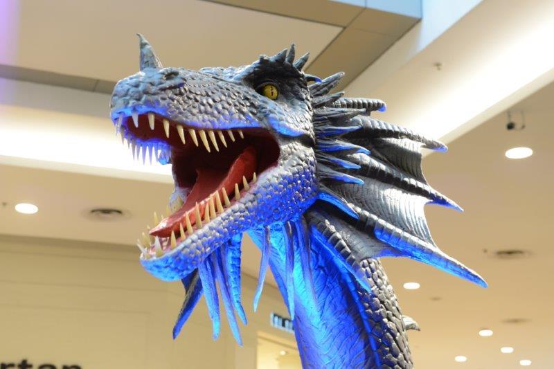 """Mostra """"Na Era dos Dragões"""" chega ao Shopping Anália Franco"""