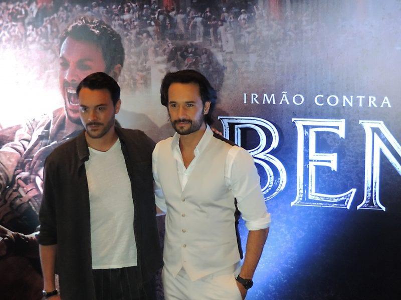Ben-Hur | Rodrigo Santoro e Jack Huston dão entrevista emocionante em São Paulo