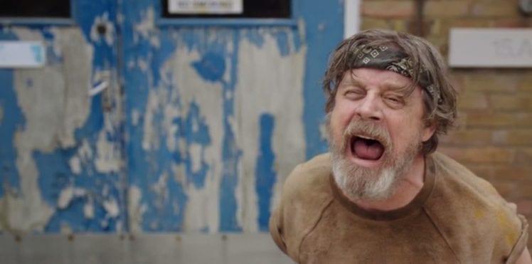 Mark Hamill | [atualizado] ator de Star Wars aparece na série Man Down e leva fãs a loucura