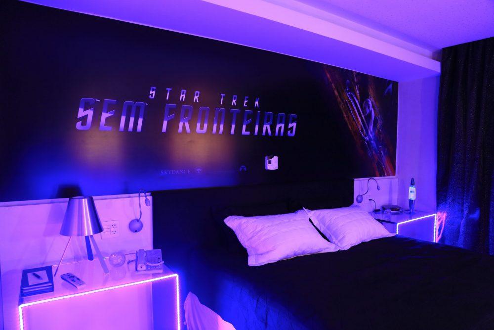 Star Trek | Sheraton São Paulo WTC Hotel criou uma suíte toda decorada com o tema do filme