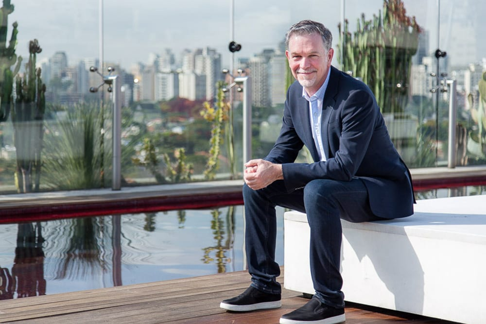 SAO PAULO, SP, 2017-02-07: Reed Hastings, CEO e co-fundador da Netflix. (Foto: Henrique Manreza/Netflix)