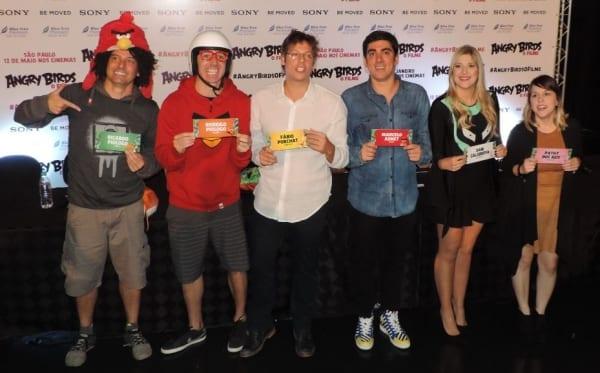 Assistimos Angry Birds, confira crítica e coletiva de imprensa com elenco de dubladores