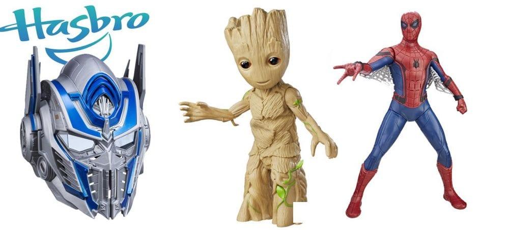 Hasbro traz novidades de seus super-heróis preferidos para a ABRIN 2017
