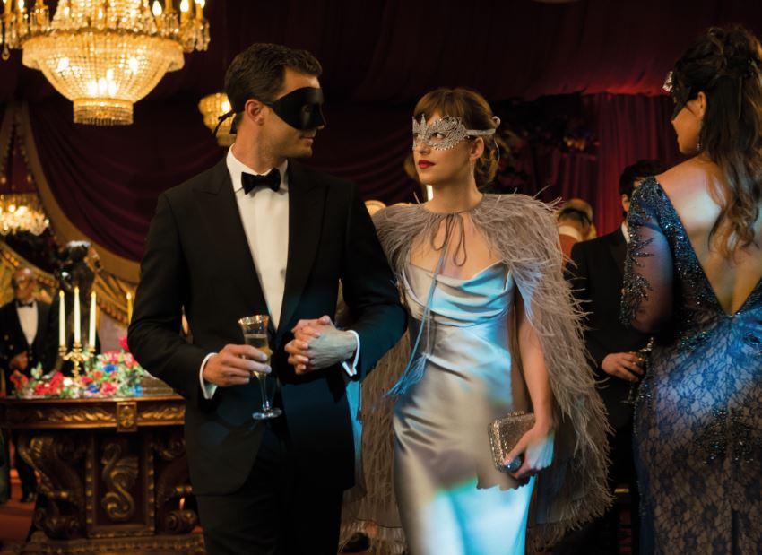 Universal promove evento para celebrar Cinquenta Tons Mais Escuros em Blu-ray e DVD