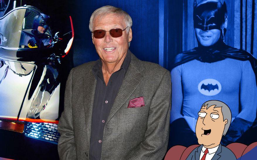 Adam West, o Batman da série dos anos 60, morre aos 88 anos