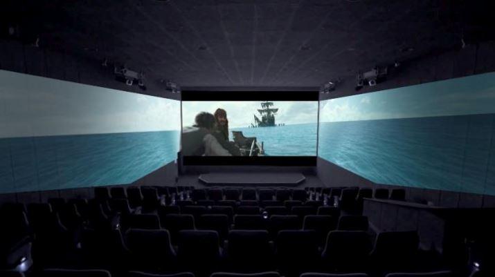 Japão vai inaugurar em julho primeira sala de cinema com três telas