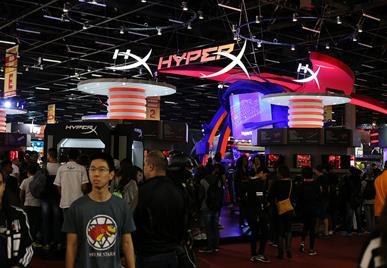 BGS10: HyperX patrocinará a décima edição da Brasil Game Show e terá estande de 500m²