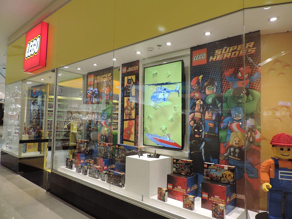 Edição de colecionador | Conheça a nova loja Lego oficial no Brasil