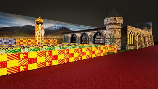 Evento terá Loja Harry Potter com ambientação do Castelo de Hogwarts
