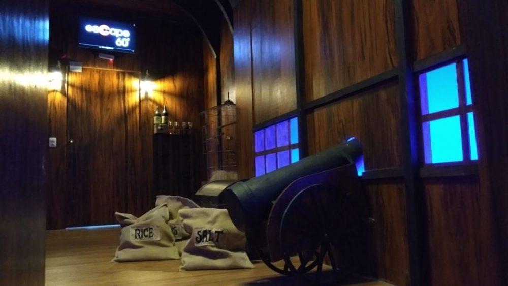Escape 60 apresenta a nova sala Os Piratas de Montserrat