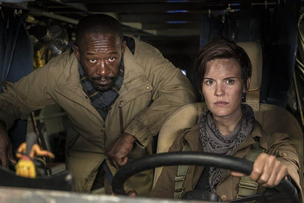 Crítica Fear the Walking Dead 4×01 – What's Your Story?