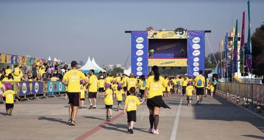 Corrida Cartoon Network reúne 15 mil pessoas