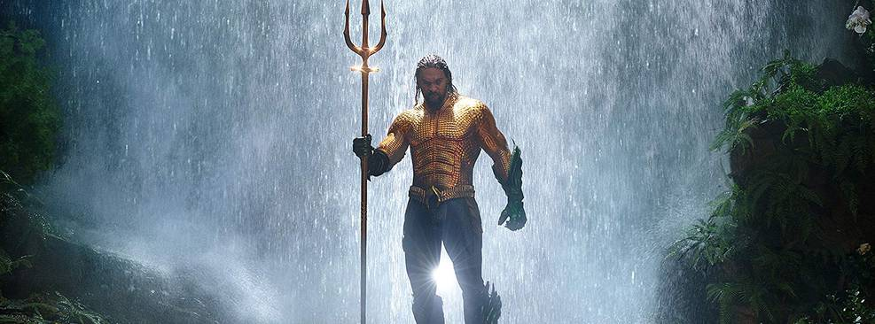 Aquaman vai inundar a CCXP com uma sessão exclusiva