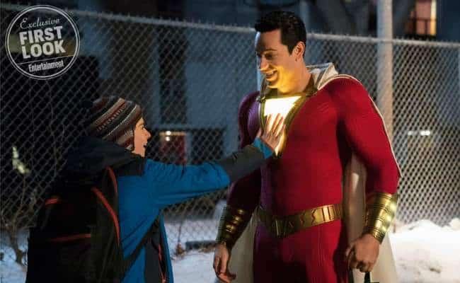 """Zachary Levi, estrela de """"Shazam!"""", marca presença no painel da Warner Bros. Pictures na CCXP"""