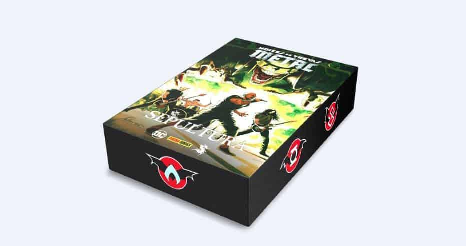 Lançamentos Panini | Boxes Aquaman e Noites de Trevas: Metal + Animais Fantásticos 2