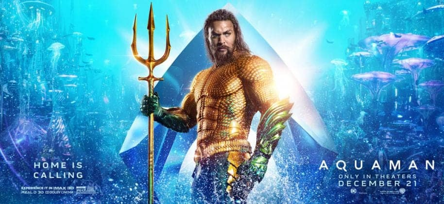 CCXP 2018 palco da primeira exibição de Aquaman no Brasil