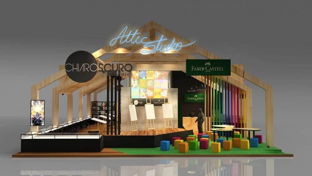 Chiaroscuro Studios divulga sua programação na CCXP 2018