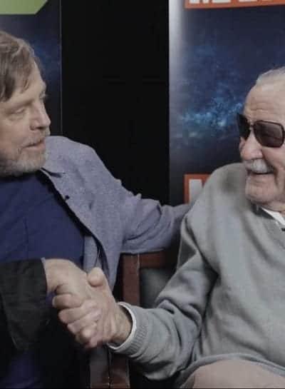 A última participação de Stan Lee em uma animação foi ao lado de Mark Hamill