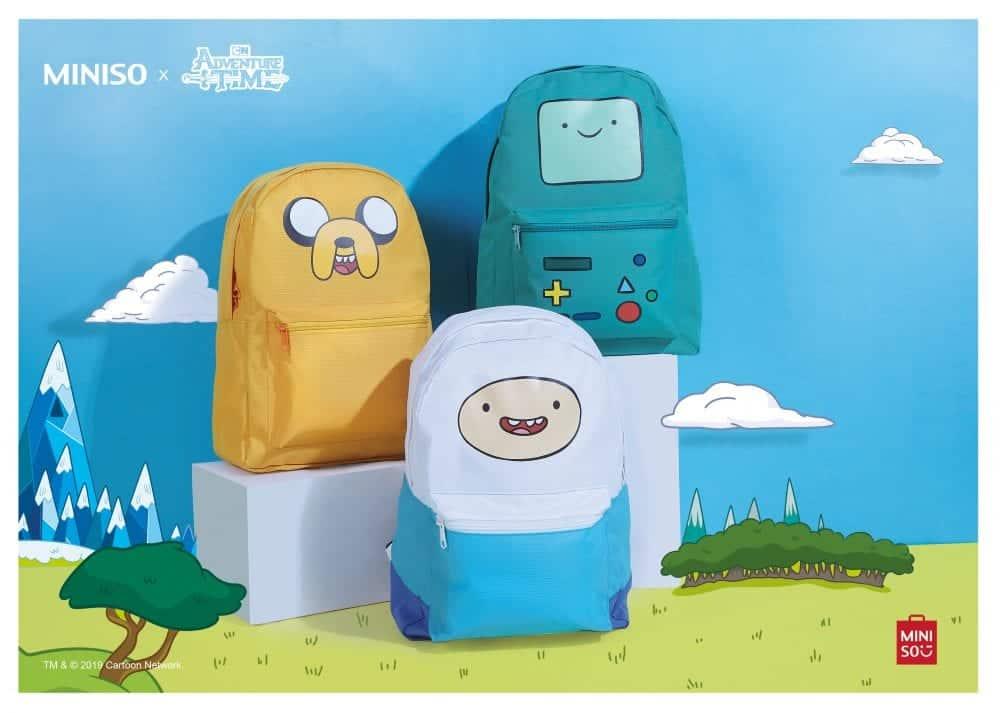 Em parceria com Cartoon Network, Miniso lança coleção mundial de Hora de Aventura