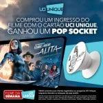 'Alita: Anjo de Combate' estreia com diversas vantagens para quem é cliente UCI UNIQUE