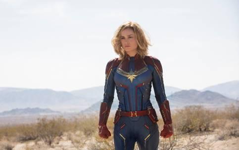 """Começa nesta quinta-feira, 7 de fevereiro, a pré-venda de ingressos para """"Capitã Marvel"""", novo filme da Marvel Studios"""