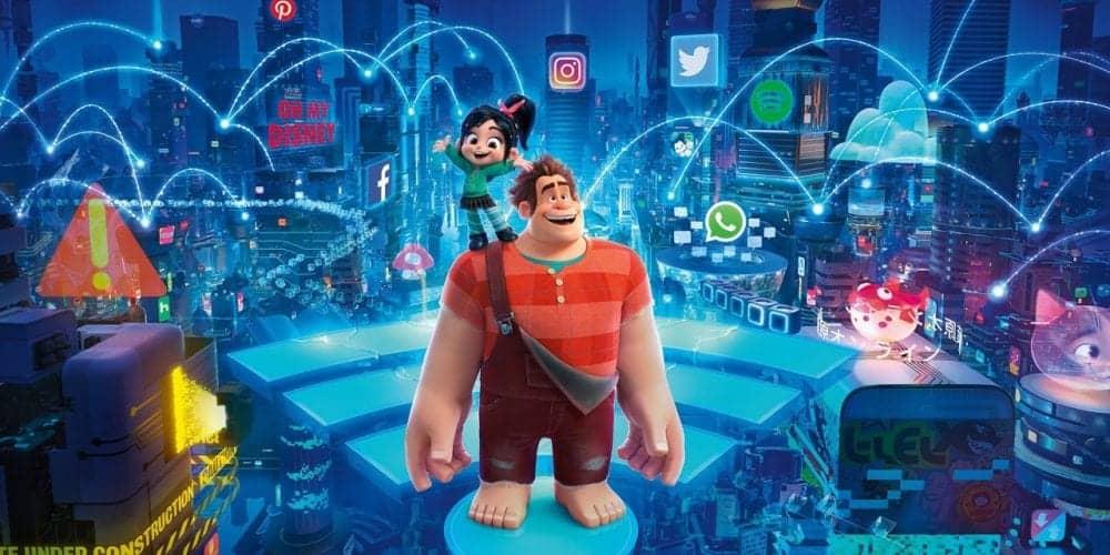 """Estreia de """"WiFi Ralph: Quebrando a internet"""" supera o mesmo período de """"Viva – A Vida é Uma Festa"""""""