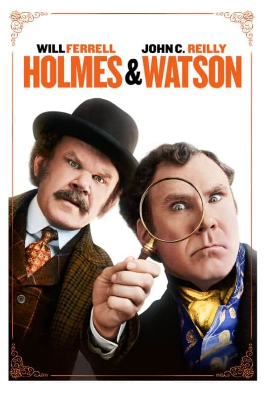Comédia HOLMES & WATSON chega ao streaming dia 22
