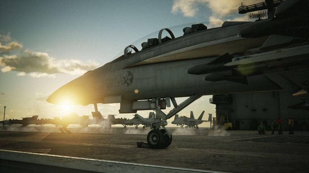 Pilotos da força aérea americana se enfrentam no game Ace Combat 7 em live neste final de semana