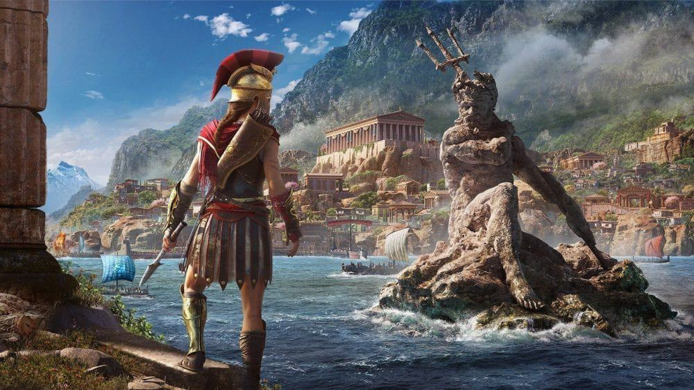 """""""Discovery Tour: Grécia Antiga"""" chega ainda em 2019 em Assassin's Creed Odyssey"""