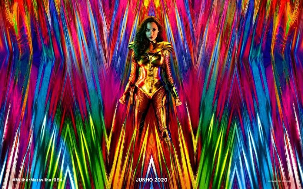 Mulher-Maravilha 1984 ganha arte oficial