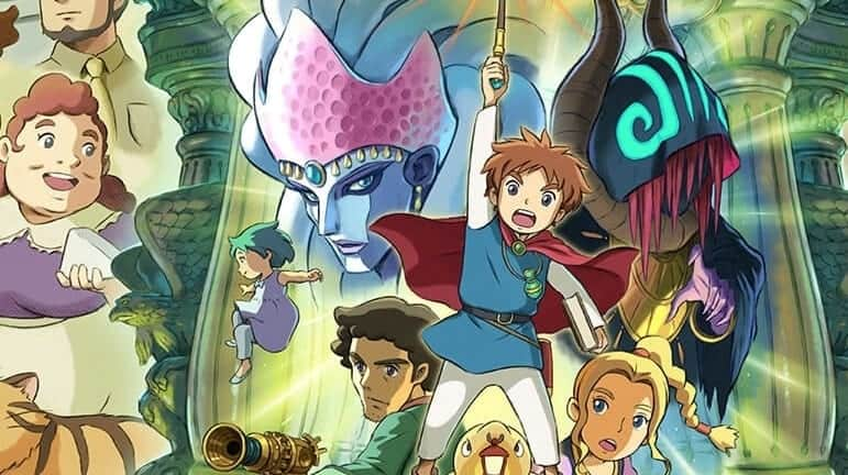 O FANTÁSTICO MUNDO DE NI NO KUNI: WRATH OF THE WHITE WITCH CHEGA AO PLAYSTATION 4, PC, E NINTENDO SWITCH EM 20 DE SETEMBRO