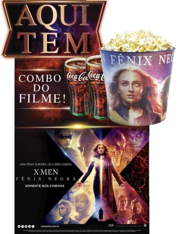 "CINÉPOLIS ANUNCIA COMBO DE ""X-MEN: FÊNIX NEGRA"", CAPÍTULO FINAL DA FRANQUIA"