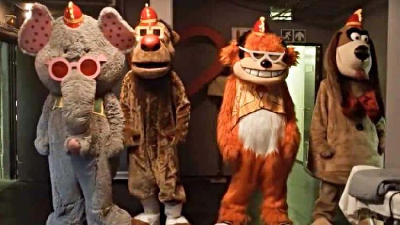 The Banana Splits | Clássico infantil vira filme de terror para maiores