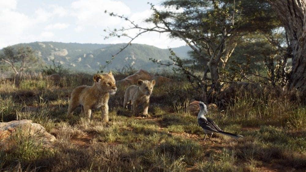 Efeito O Rei Leão nos cinemas