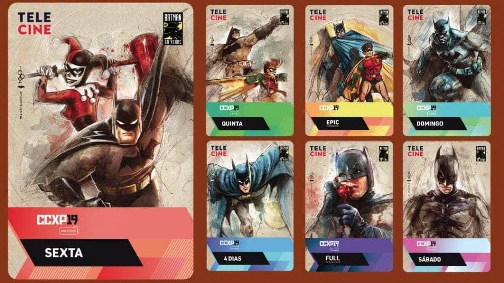CCXP19 entra no calendário oficial dos 80 anos do Batman e anuncia tema das credenciais