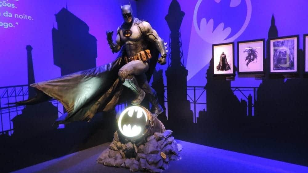Conferimos a incrível exposição Batman 80 em SP, não perca!