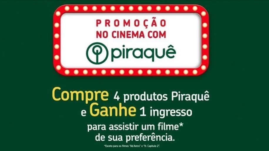 Ingresso.com lança promocode de cinema com Adria, Piraquê e Isabela