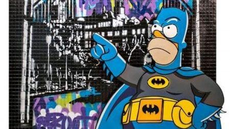 Artista Plástico Polesi cria exposição em homenagem aos 80 anos do Batman