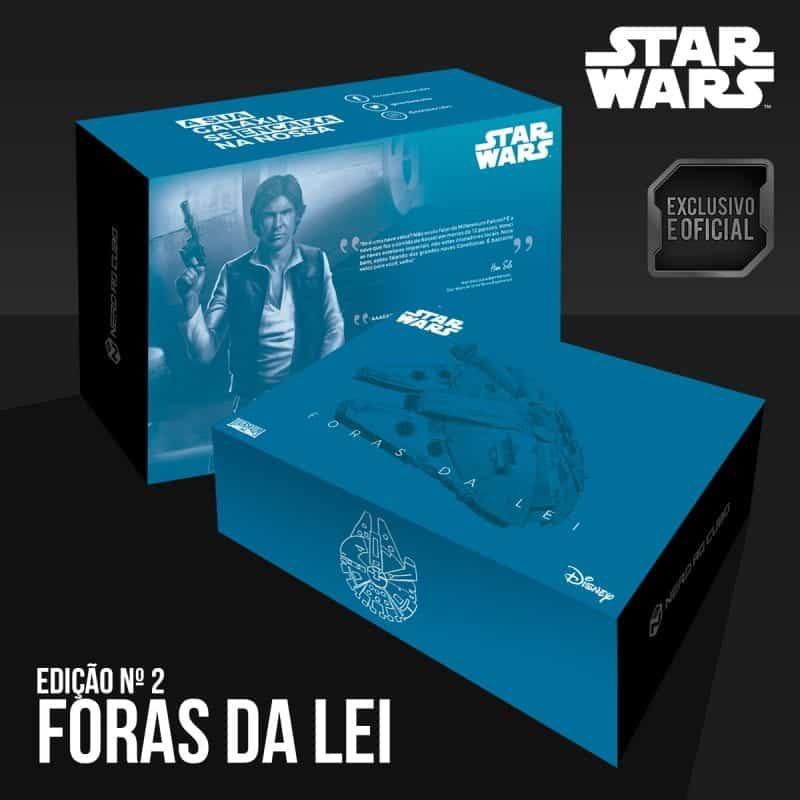 Nerd ao Cubo fecha colaboração com Disney e terá caixa com produto inédito de Star Wars