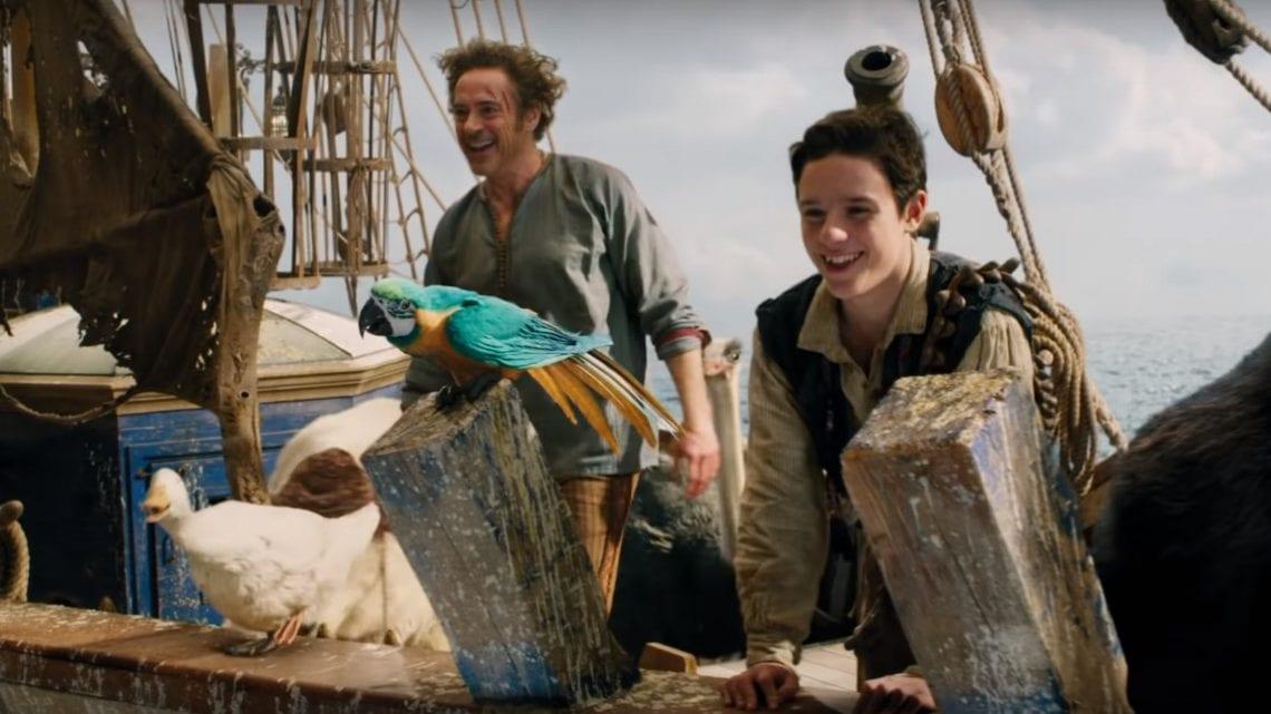 Dolittle | Robert Downey Jr.  aparece em novo trailer do filme