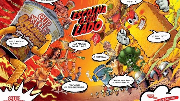 NISSIN une seus gigantes na maior feira de jogos eletrônicos da América Latina
