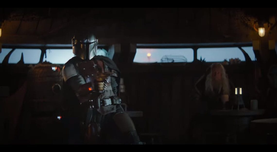 Disney + libera novo trailer de The Mandalorian
