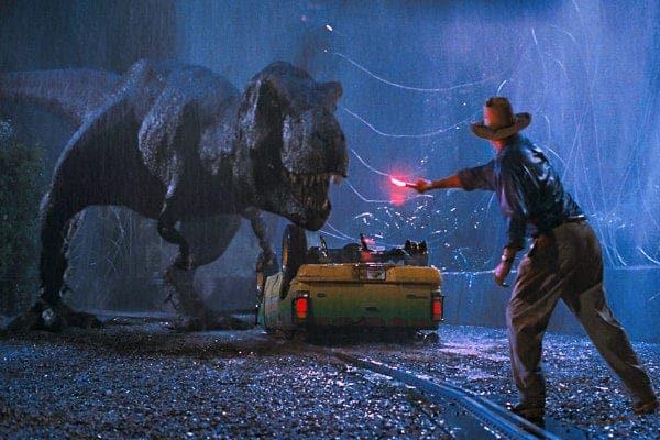Cinematographo traz dois filmes do universo Jurassic Park na sequência, com trilha sonora ao vivo